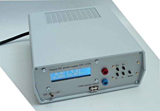 Digital Power Supply : Tuxgraphics a digital dc power supply programmable