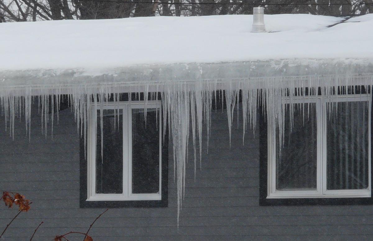 Ice Dams Attic Temperatures And Insulation