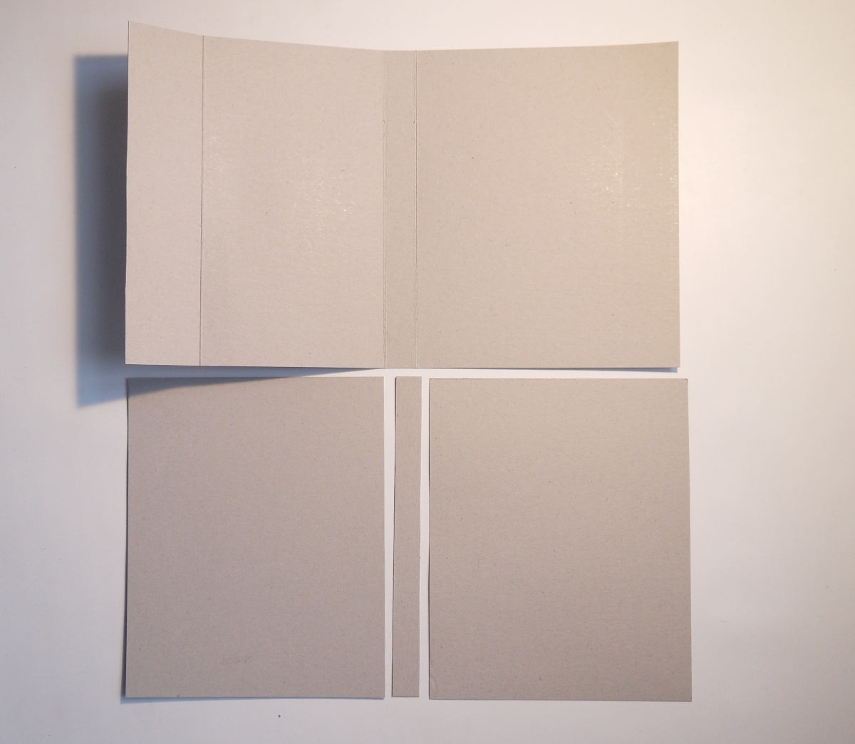 How To Make A Book Cover Out Of Cardboard ~ Diy book printing and binding