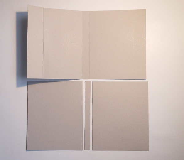 How To Make A Book Cover With Cardboard : Diy book printing and binding