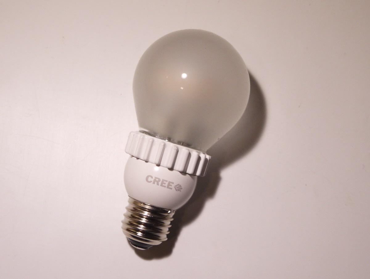 Problems with CREE LED light bulbs and the garage door opener:,Lighting